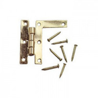 4 pc. HL - Hinges with Nails - Product Image