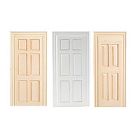 Dollhouse False Doors- Assorted Sizes & Finish - - Product Image