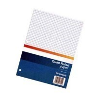 Dollhouse Quad Ruled Paper - Product Image