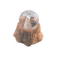 Dollhouse Wedding Bear Water Globe - Product Image