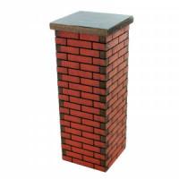 Dollhouse Large Brick Column - Product Image