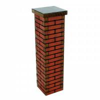 Dollhouse Small Brick Column - Product Image
