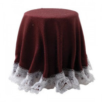 Dollhouse  Skirted Table(s)- Choice of Color - - Product Image