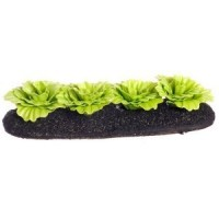 Dollhouse Green Leaf Lettuce Garden Bed - Product Image