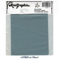§ Disc $5 Off - Solid Blue Gray Fabric - Product Image