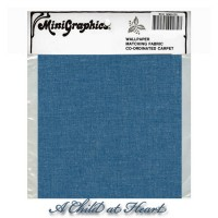 § Disc $6 Off - Denim Blue Fabric - Product Image