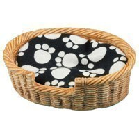 (**) Dollhouse Oval Pet Basket - Large - Product Image
