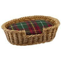 Dollhouse Oval Pet Basket - Small - Product Image
