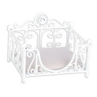 Dollhouse Rectangular Iron Pet Bed - Product Image