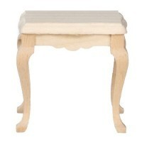 Unfinished Dollhouse Side Table - Product Image