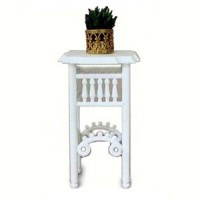 Dollhouse Plant Stand w/ Plant (Kit) - Product Image