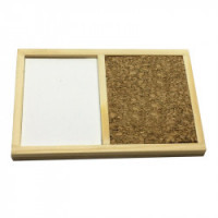 (*) Dollhouse Cork Peg & White Board - Product Image