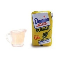 Dollhouse 5 lb. Flour or Sugar w/ Measuring Cup - Product Image