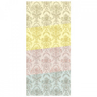 3 Shts - Dollhouse Marie Antoinette Paper- Choice of Color - - Product Image