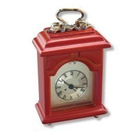Dollhouse Working Mantel Clock - Product Image