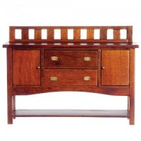 Dollhouse Shaker Buffet - Walnut - Product Image