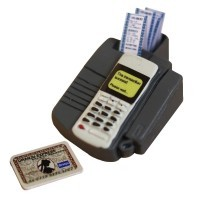 (**) Dollhouse Credit Card Machine - Product Image