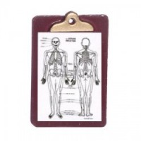 Dollhouse Patient Medical Chart & Clipboard - Product Image