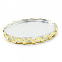(§) Sale - Mini Mirrored Tray(s)- Choice of style & Finish - - Product Image
