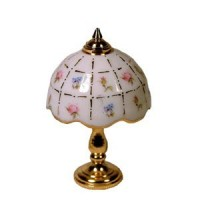 Dollhouse Crosshatch Table Lamp - Product Image