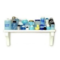 Dollhouse Nursery Long Shelf - Product Image