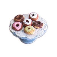 Dollhouse Donuts on Stand - Product Image