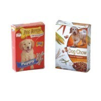 (**) Dollhouse Dog Food Box(s)- Choice of Styles - - Product Image