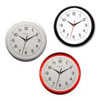 Dollhouse Round Kitchen Wall Clock- Choice of Color - - Product Image