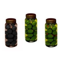 Dollhouse Jar of Olives - Product Image
