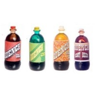 (**) Dollhouse 2 liter Bottle - Quench Soda - Product Image