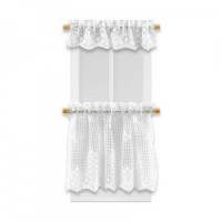 Dollhouse White Lace Scallop Cafe - Product Image