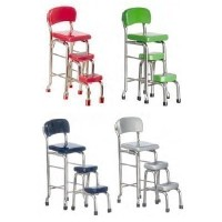 Sale $3 Off - Kitchen Stool with Steps- Choice of Color - - Product Image