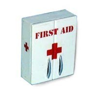 (*) Dollhouse First Aid Box or Cabinet - Product Image