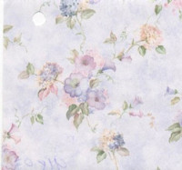 (§) Disc 50% Off - 3 Shts Morning Glories Paper- Choice of Color - - Product Image