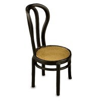 Dollhouse Cane Seat Cafe Chair - Product Image