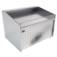 (§) Dollhouse Stainless Steel' Display Chiller(Choice Empty or Filled) - Product Image