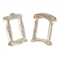 Dollhouse Silver Victorian Photo Frame - Product Image