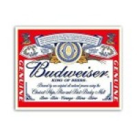 § Sale .50¢ Off - Dollhouse Budwieiser Poster - Product Image