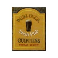 Dollhouse Sign - Irish Pub Sign - Product Image