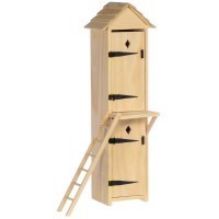 Dollhouse 2-Story Outhouse - Product Image