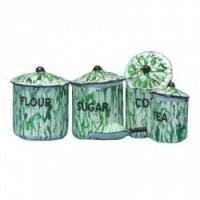 Dollhouse Flow Miniature Canister #2- Choice of Color - - Product Image