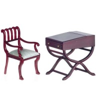 Dollhouse Explorers Desk & Chair - Product Image