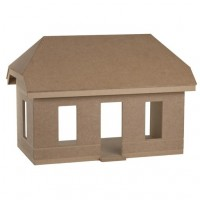 Charming Cottage Dollhouse Shell Kit - Product Image