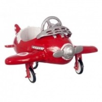Dollhouse Airplane Pedal Car - Product Image