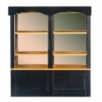 Dollhouse Black Mirrored Counter, Small - Product Image