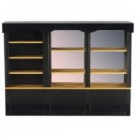 Dollhouse Black Mirrored Counter, Large - Product Image
