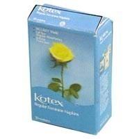 § Sale .70¢ Off - Dollhouse Retro Kotex Box - Product Image