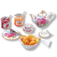 Dollhouse Continental Breakfast Set - Product Image