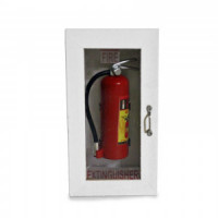 (*) Dollhouse Fire Extinguisher Cabinet- Choice of Color - - Product Image