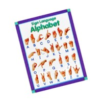(**) Classroom Sign Language Chart - Product Image
